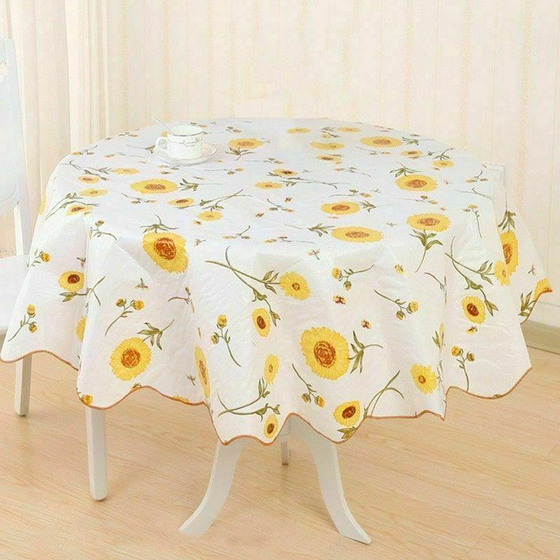 Wipe Vinyl Tablecloth Table Cover