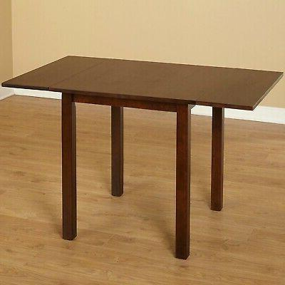 wood 2 drop leaf table kitchen dining