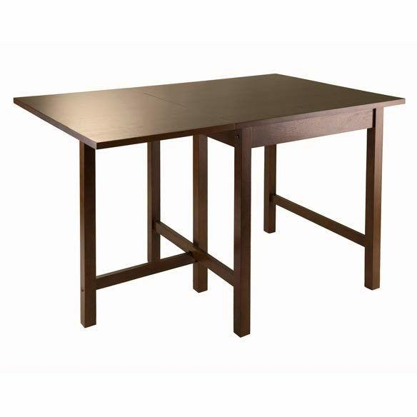 wood lynden drop leaf dining table win