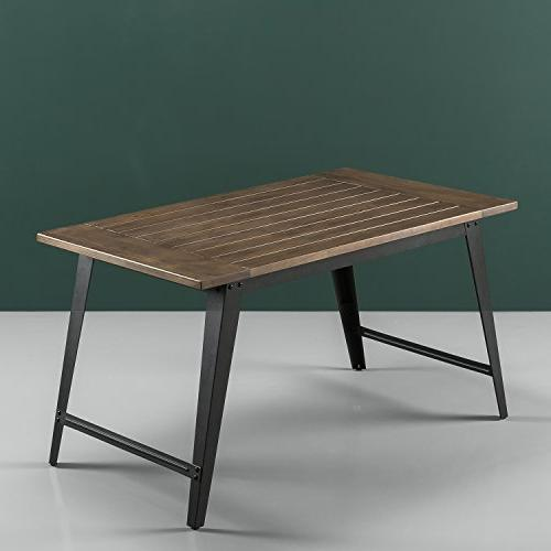 Zinus Donna Metal Dining Table