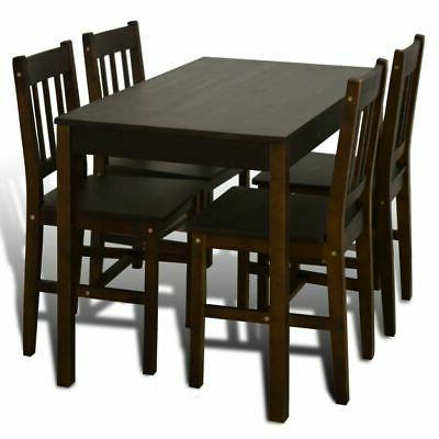 Wooden Dining with 4