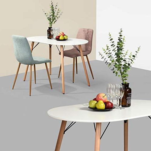 HOMY Multi-Function Dining with Plated Legs for Dining Room