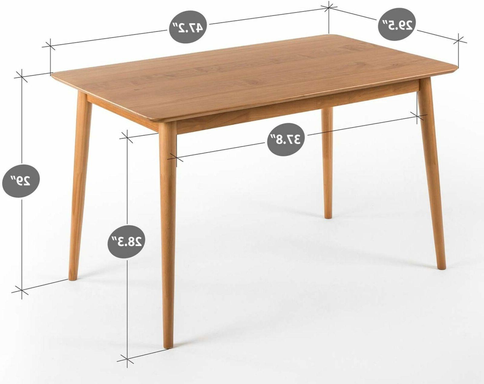 Wood Dining Table / Natural .