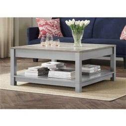 Better Homes and Gardens Langley Bay Coffee Table, Gray/Sono