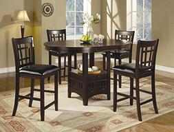 Coaster Home Furnishings Lavo 5 Piece Counter Height Dining