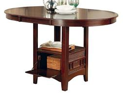 """Lavon Counter Height Table with  24""""H Bar Stools by Coaster"""