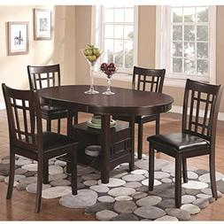Coaster Home Furnishings Lavon 5-Piece Storage Table Dining
