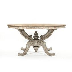 Le Harve Provence French Country Distressed Reclaimed Elm Wo