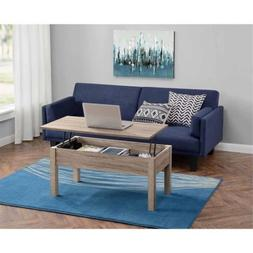 Lift-Top Coffee Table Made of Composite Wood, Great for Mobi