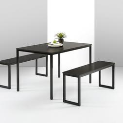Zinus Louis Modern Studio Collection Soho Dining Table w/ Tw