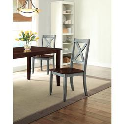 Better Homes and Gardens Maddox Crossing Dining Chair, Blue,
