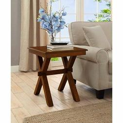 Better Homes And Gardens Maddox Crossing End Table, Cognac