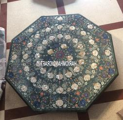 Marble Dining Table Tops Pauashell Inlay Floral Decorative M