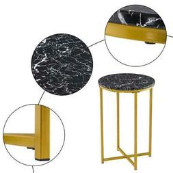 Marble Round Dining Table Industrial Console Lounge Bar Mode