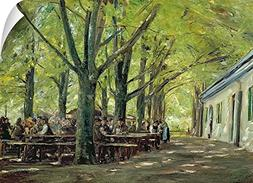 Max  Liebermann Wall Peel Wall Art Print entitled A Country