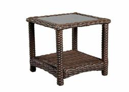 Hampton Bay Mill Valley Accent Table - NEW in box