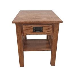Mission End Table Side Table Solid Oak Made By Amish Craftsm