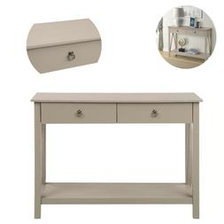 Modern Console Table for Entryway Sofa Table with Drawers an