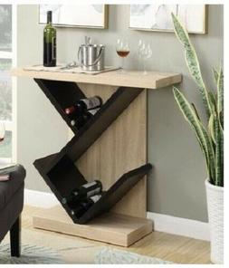 Modern Contemporary Wooden Console Table Bar Serving Wine Di