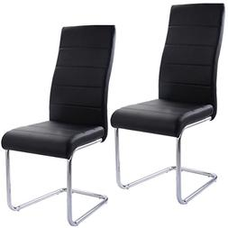 Premium 2 Piece Modern Dining Chairs Furniture for Indoors,