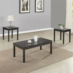 Modern Faux Marble Coffee Table Desk Dining Room Furniture 3