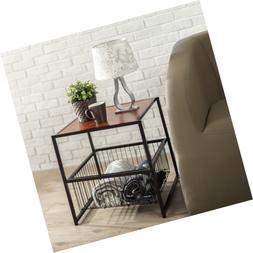 Zinus Modern Studio Collection Deluxe Side End Table Coffee