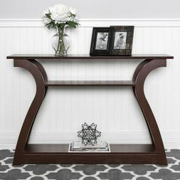 Narrow Console Table For Entryway Hall Living Room Office 47