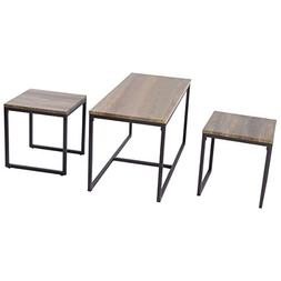Coffee Tables Set - 3 piece nesting coffee table