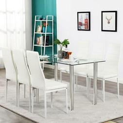 new 7 piece dining table set 6