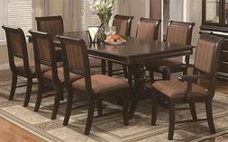 NEW! Bordeaux Formal Dining Room 10 piece Set, Table w/leaf,