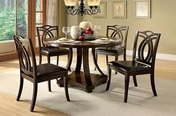 New Dining Room Furniture Set Dining Table w/ 4 Side Chairs