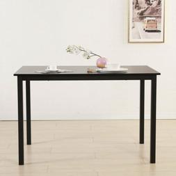 New Dining Table Iron Frame Modern Simplistic Kitchen Room F
