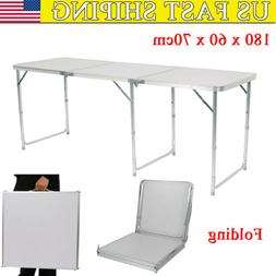 New Folding Table Portable Outdoor Picnic Party Dining Camp