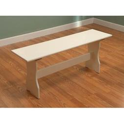 TMS Nook Bench - Antique White
