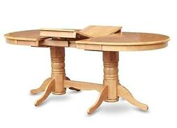 ONE OVAL DINETTE KITCHEN DINING TABLE 40x76 WITHOUT CHAIR IN