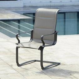 f31a0be30504 Cosco Outdoor Living SmartConnect Padded Motion Dining Chair