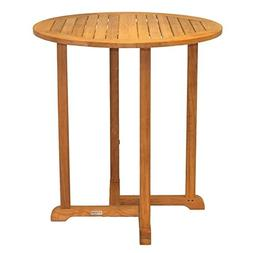 Three Birds Casual Oxford Round Bar Table, 36-Inch