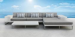 patio wicker furniture sofa sectional