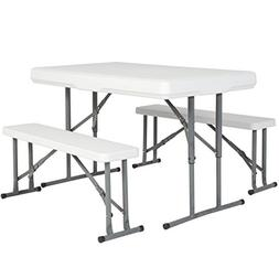 Best Choice Products Outdoor Picnic Party Dining Kitchen Por