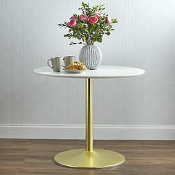 TMS Pisa Round Dining Table, Multiple Finishes
