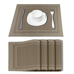 Placemats Dining Table Mat Vinyl Placemats Kitchen Place