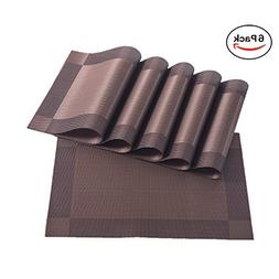 Placemats,Placemats for Dining Table,Heat-resistant Placemat