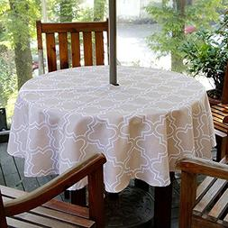 Fanjow Polyester Rectangle Tablecloth Floral Print Table Clo