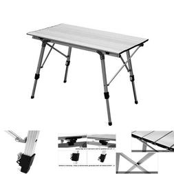 Portable Folding Table Outdoor Picnic Party Dining Camp Tabl