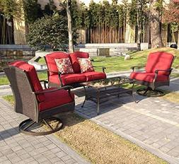 Better Homes and Gardens Powder-Coated Steel with Cushions P