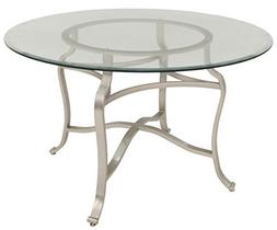Impacterra QLBV510764801 Bremerhaven Dining Table, Brushed S