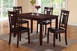 Poundex PDEX-F2232 Kitchen and Dining Room Sets, Multicolor