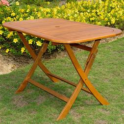 60 in. Rectangular Folding Patio Table