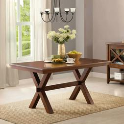 Long Wooden Dining Table Rectangular Kitchen Dining Home Off