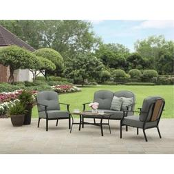 Better Homes and Gardens Outdoor Rolling Oaks Table with 4-P